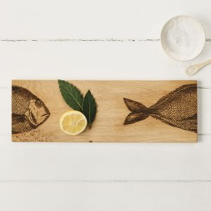 Oak Fish Medium Serving Platter by Scottish Made