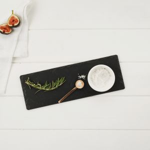 Marble and Slate Serving Set