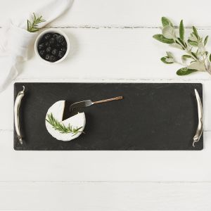 Small Slate Tray Chilli Handles