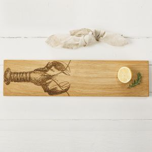 Oak Lobster Large Serving Platter by Scottish Made