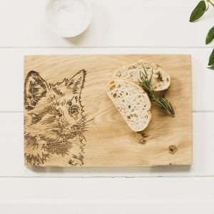 Fox Oak Serving Board 30cm by Scottish Made