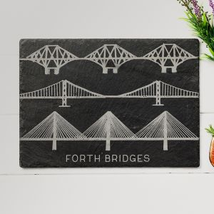 Forth Bridges Slate Cheese Board