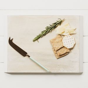 Mango Wood Cheese Board and Knife Set