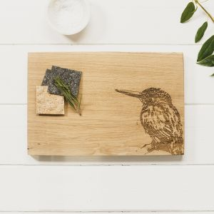 Kingfisher Oak Serving Board 30cm by Scottish Made
