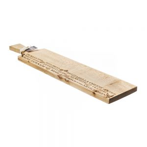 Long Sycamore Antipasti Paddle by Scottish Made