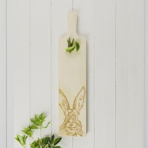 Long Sycamore Hare Serving Paddle