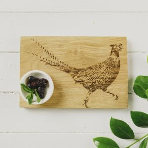 Pheasant Oak Serving Board 30cm