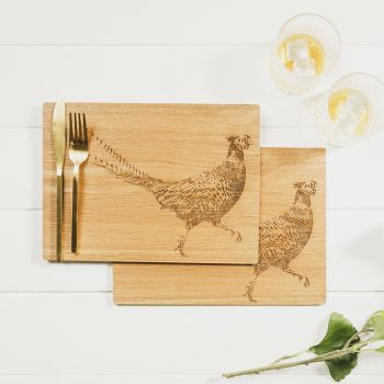Product Image 2 Pheasant Veneer Place Mats at JustSlate