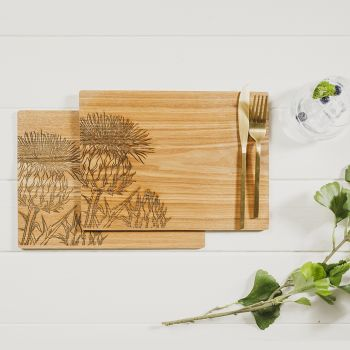 Buy 2 Thistle Veneer Place Mats