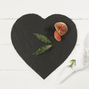 Slate Heart Cheese Board