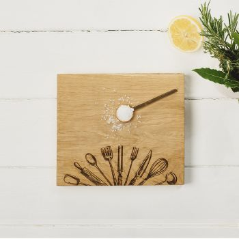 Oak Utensils Chopping Board 21cm by Scottish Made