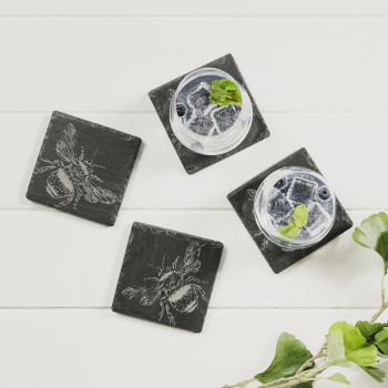 Buy 4 Bee Coasters