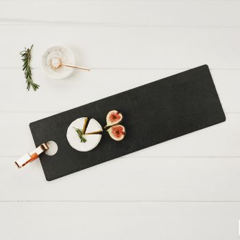 Rectangular Slate Hanging Serving Board