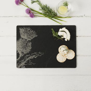 Slate Thistle Cheese Board