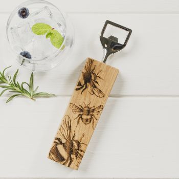 Online options for Bee Oak Bottle Opener