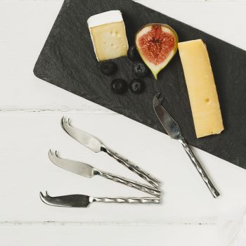 Four Mini Cheese Knives