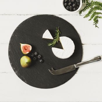 Slate Round Cheese Board