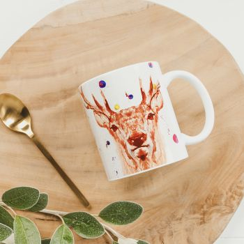 Main image of Stag Water Colour Mug