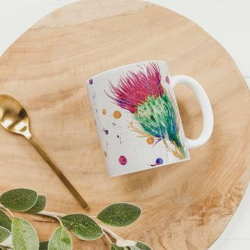 Main image of Thistle Water Colour Mug