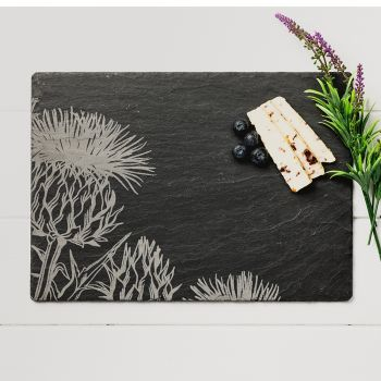 Contemporary Thistle Slate Cheese Board