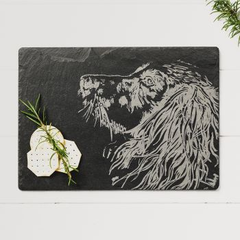 Spaniel Slate Cheese Board