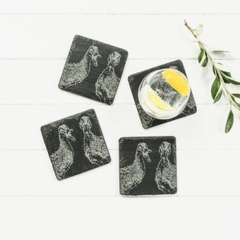 Small image of 4  Quacking Ducks Coasters