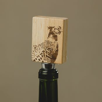 Main image of Pheasant Oak Bottle Stopper