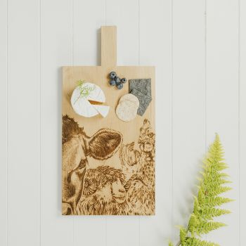 Main image of Country Friends Large Oak Serving Paddle