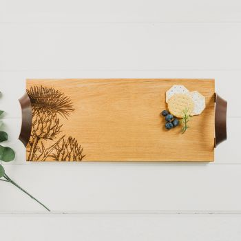 Thistle Oak Serving Tray