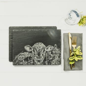 Small image of 2 Country Friends Place Mats