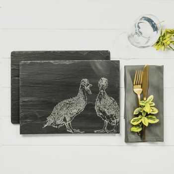 Small image of 2 Quacking Ducks Place Mats