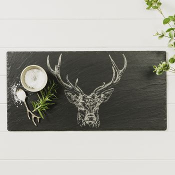 Main image of Stag Prince Slate Table Runner
