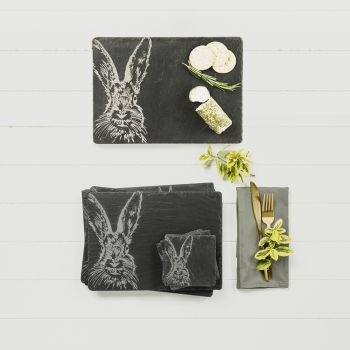 Main image of Hare Slate Gift Set