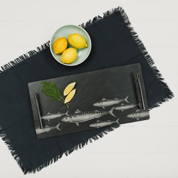 Large Mackerel Serving Tray