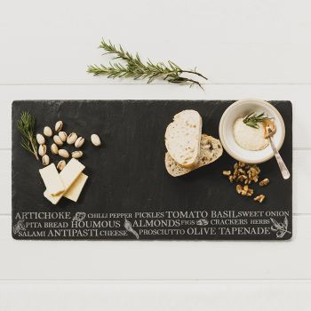 Antipasti Slate Table Runner