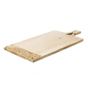 Large Sycamore Antipasti Paddle by Scottish Made