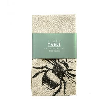 Main image of Bee Linen Table Runner