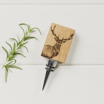 Buy Monarch Stag Oak Bottle Stopper