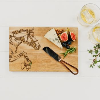 Horse Oak Serving Board 30cm