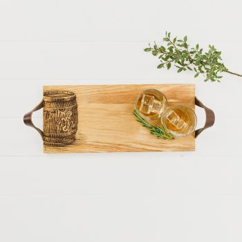Whisky Oak Serving Tray