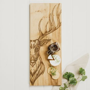 Buy Stag Large Oak Serving Board
