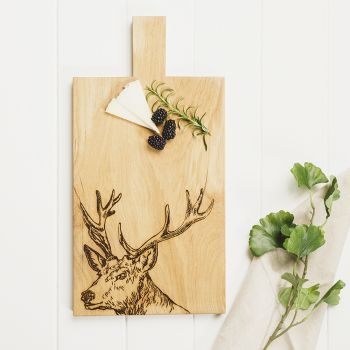 Buy Stag Large Oak Serving Paddle