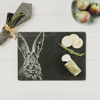 Slate Hare Cheese Board