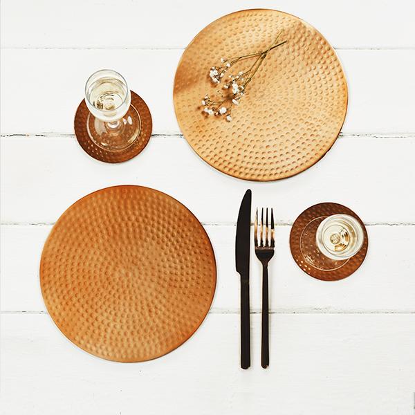 Buy Metallic Tableware